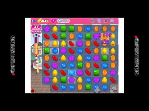 Candy Crush Saga Level 7, score 240300 no booster