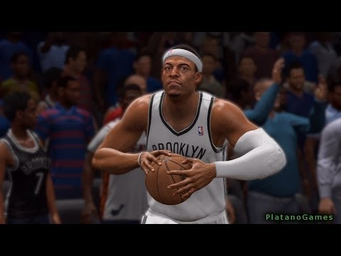 NBA Live 14 Playoffs - Miami Heat vs Brooklyn Nets - Game 4 - Halftime Show - HD