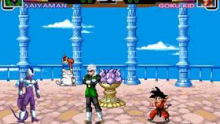 Dragon Ball Z M.U.G.E.N Edition 2011 Gameplay (2011) By