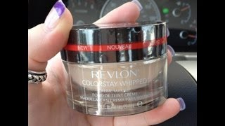 Revlon Makeup on Review  Revlon Colorstay Whipped Creme Makeup  Foundation    Youtube