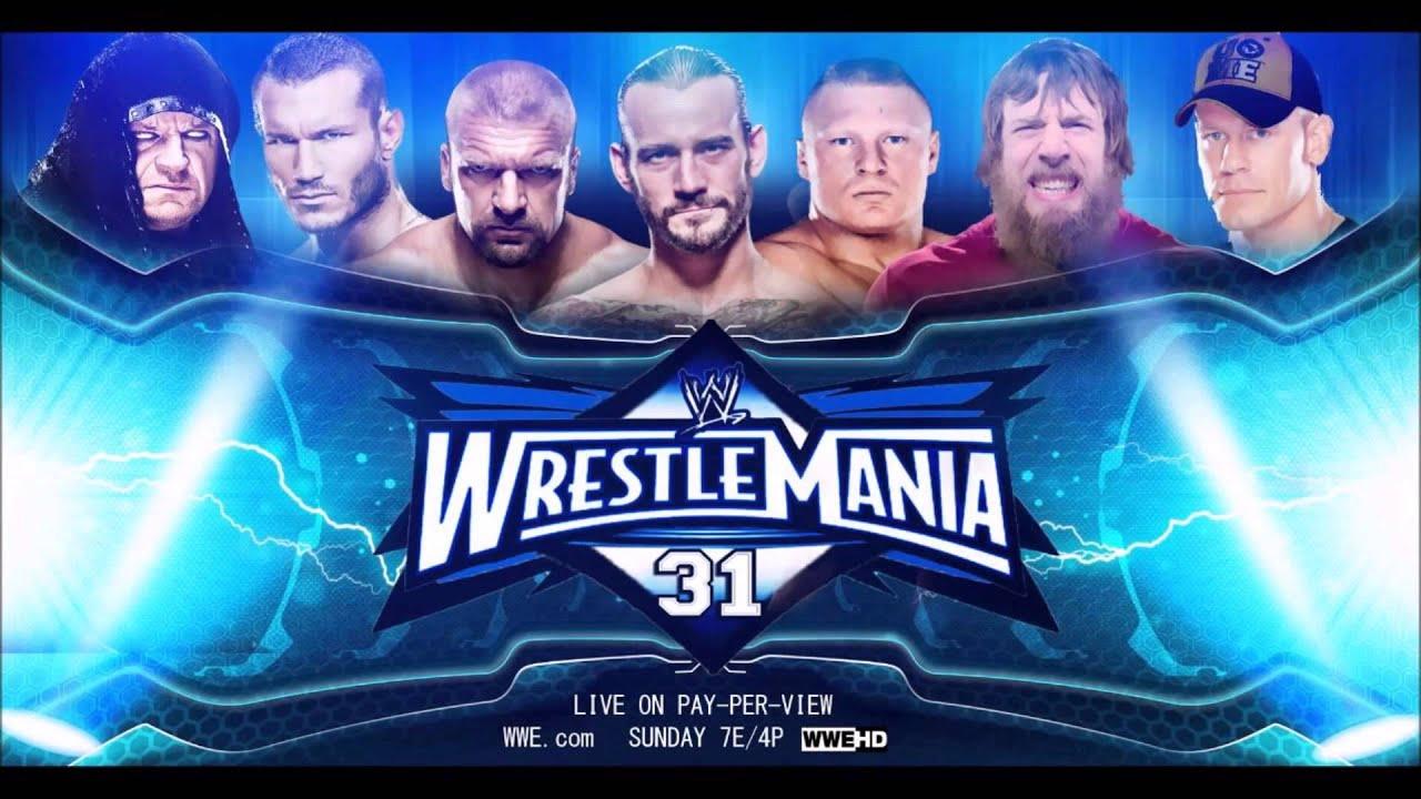 Wrestlemania 31 triple h vs sting - d