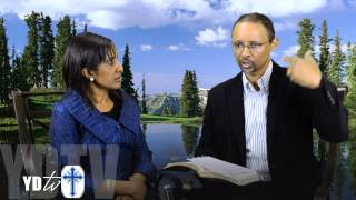 March 30 2014 Mekane Yesus Church TV Program   Getayawkal and Biruktawit part 2