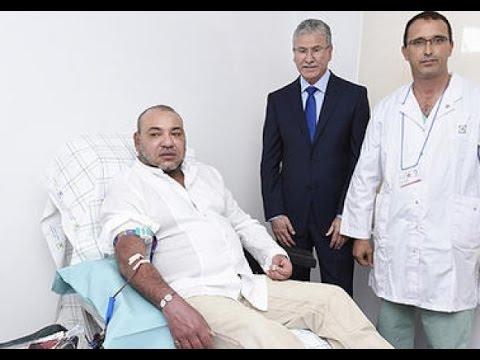 تبرع الملك محمد السادس بالدم