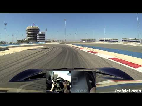 McLaren P1 Hot Lap of BIC Inner Track by GT3 Driver Tim Mullen - Top Gear Car