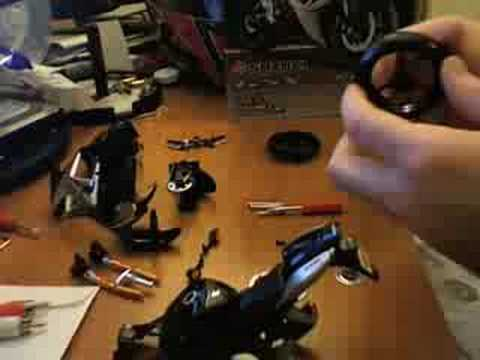 Maisto Suzuki GSXR 600 model assembly