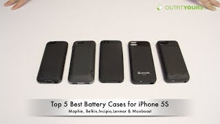 Top 5 Best IPhone 5S Battery Cases Mophie, Incipio
