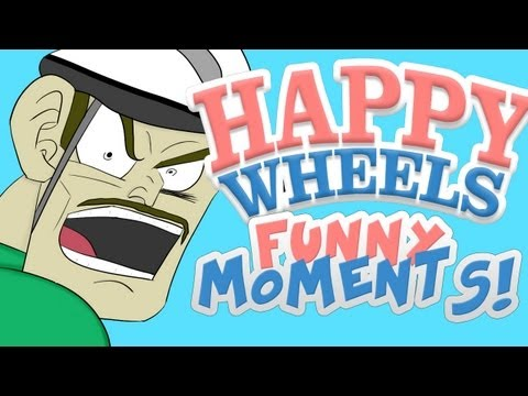 HAPPY WHEELS - FUNNY MOMENTS MONTAGE #3, Please take a second and LIKE+FAV this video! :D I worked really hard on it. Also : SHARE THIS VIDEO with friends:) Twitter/Facebook/Websites *brofist* More ...