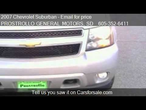 2007 Chevrolet Suburban LT for sale in Huron, SD 57350 at PR