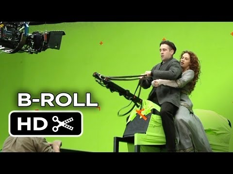 Winter's Tale Complete B-ROLL (2014) - Colin Farrell Fantasy Movie HD