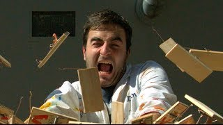Mousetrap Chain Reaction in Slow Motion - The Slow Mo Guys
