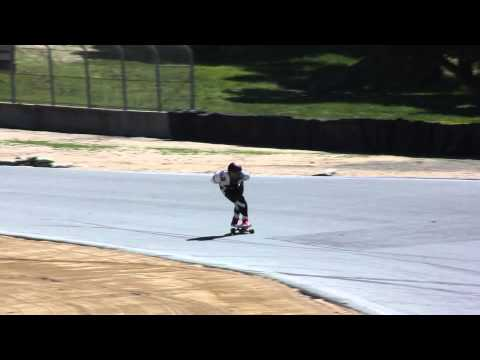 Laguna Seca 2014 NHS Down Hill Skateboarding - Rad Train