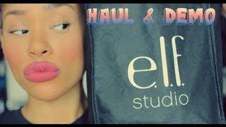 E.l.f Cosmetics HAUL & DEMO
