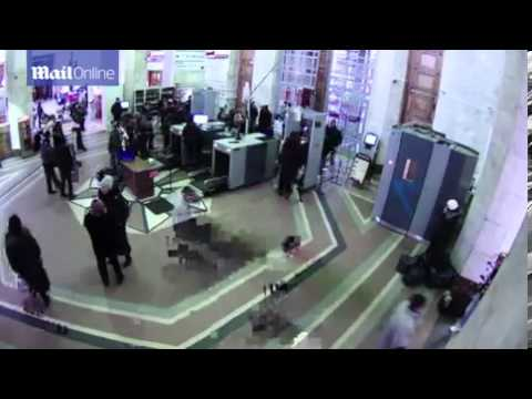 CCTV footage of blast at Russia Train station - 12 janvier 2014