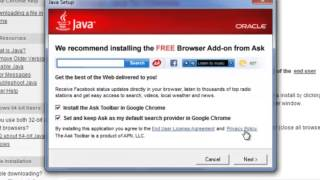 How To Install Java Plugin For Google Chrome : Internet