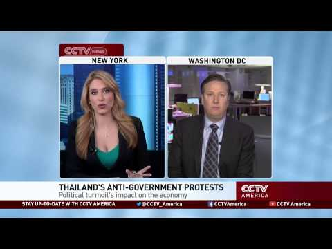 Will Thailand's anti-government protests damage its economy?