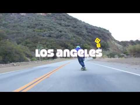 Longboard Mexico L.A. Run