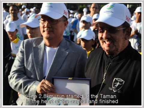140529 Fun Run garners Brunei wishes for Incheon Asian Games