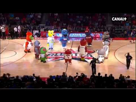 baile mascotas all star 2013 COMPLETOOO