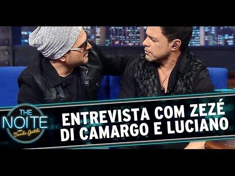 The Noite (14/08/14) - Entrevista com Zezé Di Camargo e Luciano