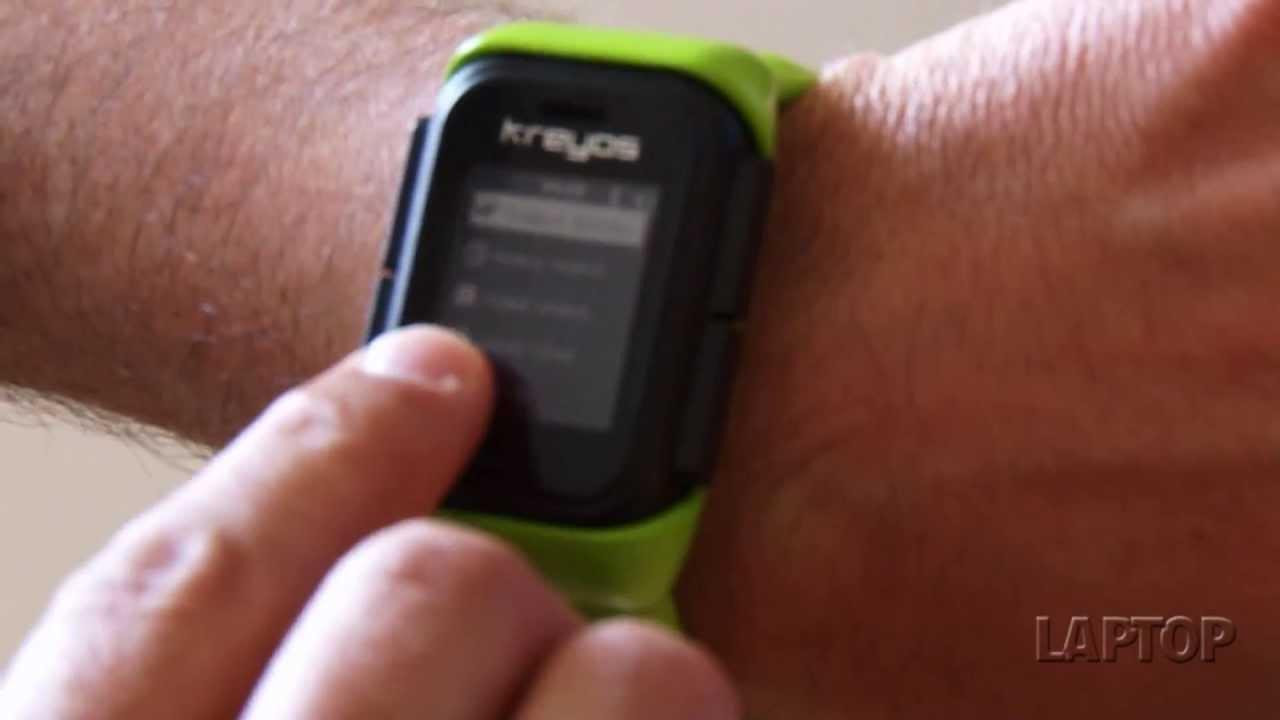 Kreyos Meteor Waterproof Smart Watch - First look