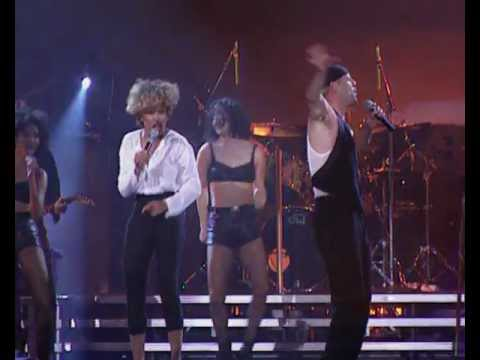 Bruce Willis duet with Tina Turner
