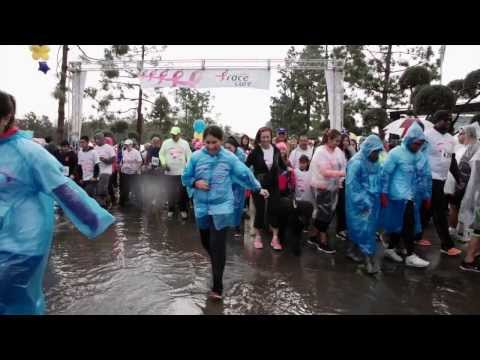 AutoNation and Ryan Hunter-Reay visit Susan G. Komen Race for the Cure in LA