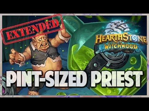 Pint Sized Priest | Extended Gameplay | Hearthstone | The Witchwood