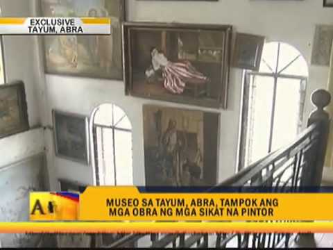 Picasso, Renoir paintings in Abra museum
