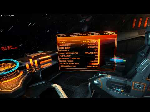 Elite Dangerous- strange dogfight- lag? Phantom damage?