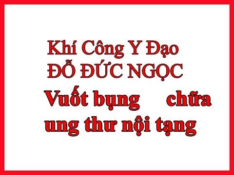 Vuốt bụng chữa ung thư nội tạng - Thày Đỗ Đức Ngọc - Khí công y đạo Việt Nam