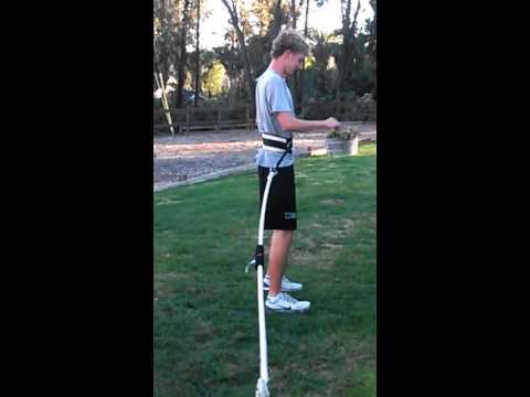 Kicking and punting movements