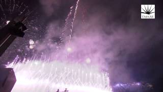 Burj Khalifa Downtown Dubai New Year's Celebrations 2014 #Be...