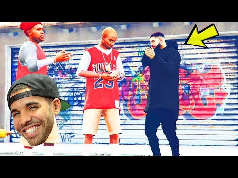 GTA 5 DRAKE JOINS THE BLOODS!