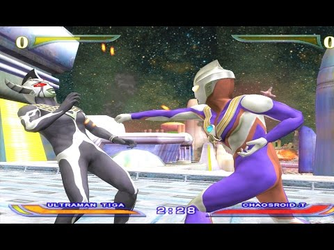 Sieu Nhan Game Play | Ultraman Tiga Battle mode | Game Ultraman Fer