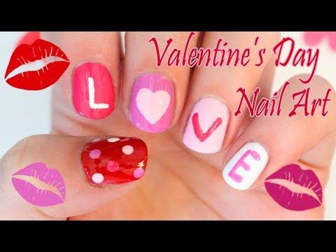 LOVE Valentine's Day Mani - Valentin - napi köröm