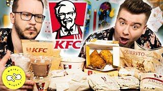 Spróbowaliśmy WSZYSTKIEGO z KFC