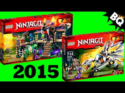 LEGO Ninjago 2015 Set Pictures Revealed
