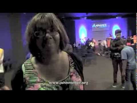 Bone cancer sufferer healed of chronic hip & spinal pain - John Mellor Healing Prayer Ministry