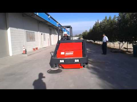 ARMADILLO 9X SWEEPER MACHINE - HATCON INDUSTRIAL Services Co Ltd.
