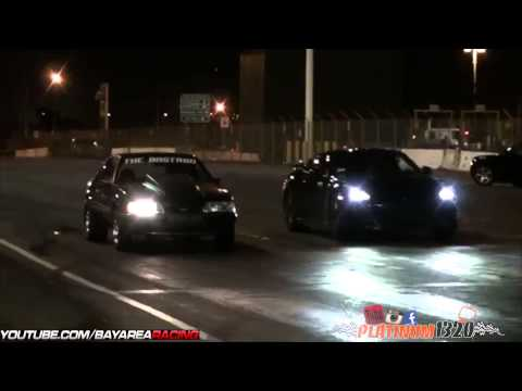 554HP GT-R VS FOX BODY MUSTANG & BUELL