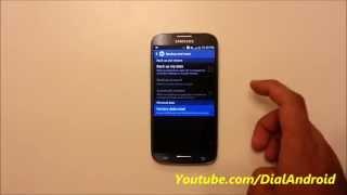 Galaxy S4 reset atma - fabrika ayarlarına döndürme