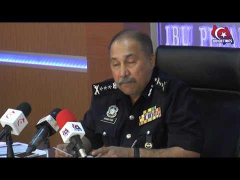 Kejayaan Polis Johor Membanteras Aktiviti Pelacuran