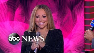 Mariah Carey talks 15th studio album and 'Glitter' reaching No. 1