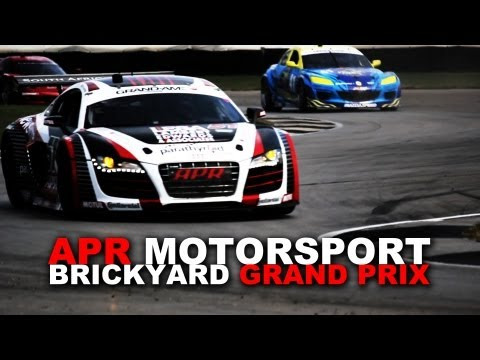 APR Motorsport Audi R8 Grand-AM at the Brickyard Grand Prix