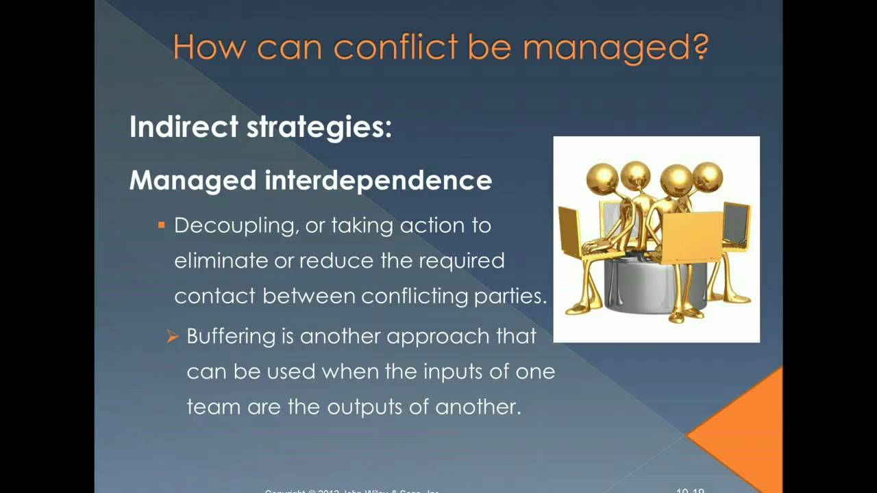 conflict negotiation thesis Evidence of men and women's levels of bargaining power and involvement in workplace negotiation is also provided the improvement and maintenance of many women's working conditions will rest on the success or failure of the low-paid bargaining stream.