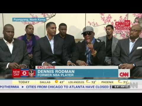 Dennis Rodman Flips Out During Interview from North Korea