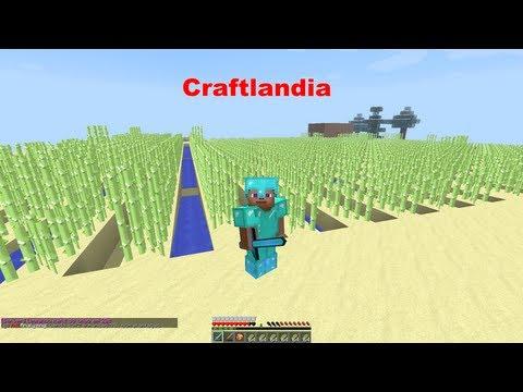 Minecraft Craftlandia - Preparando Minha Plantaçao