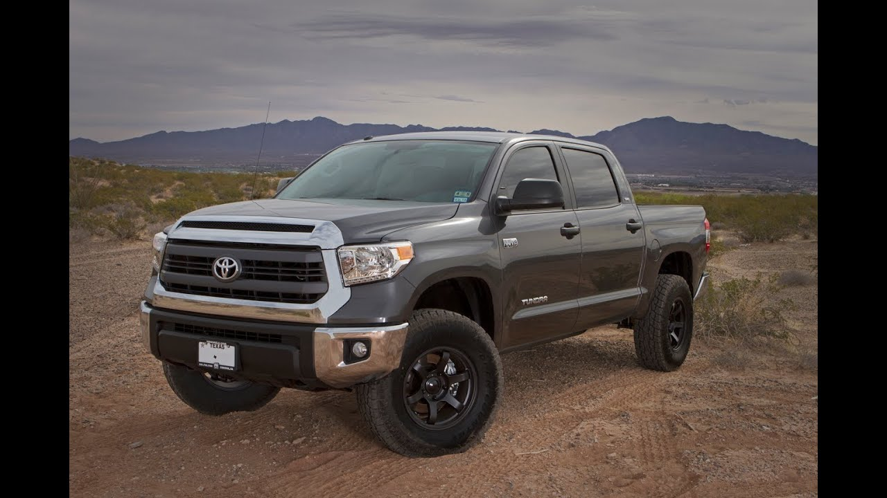 2014 toyota tundra crewmax 4x4 lift review youtube. Black Bedroom Furniture Sets. Home Design Ideas