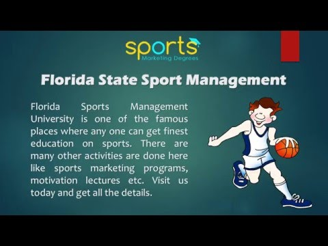 Sports Degree Programs Offered By Florida Sports Management University Online