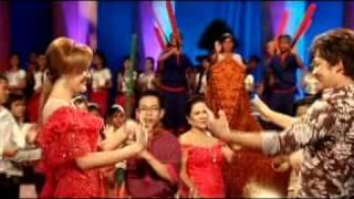 RHM VCD Vol.142-Srolanh Aun Steur Sanlob By Sovath+Pichda